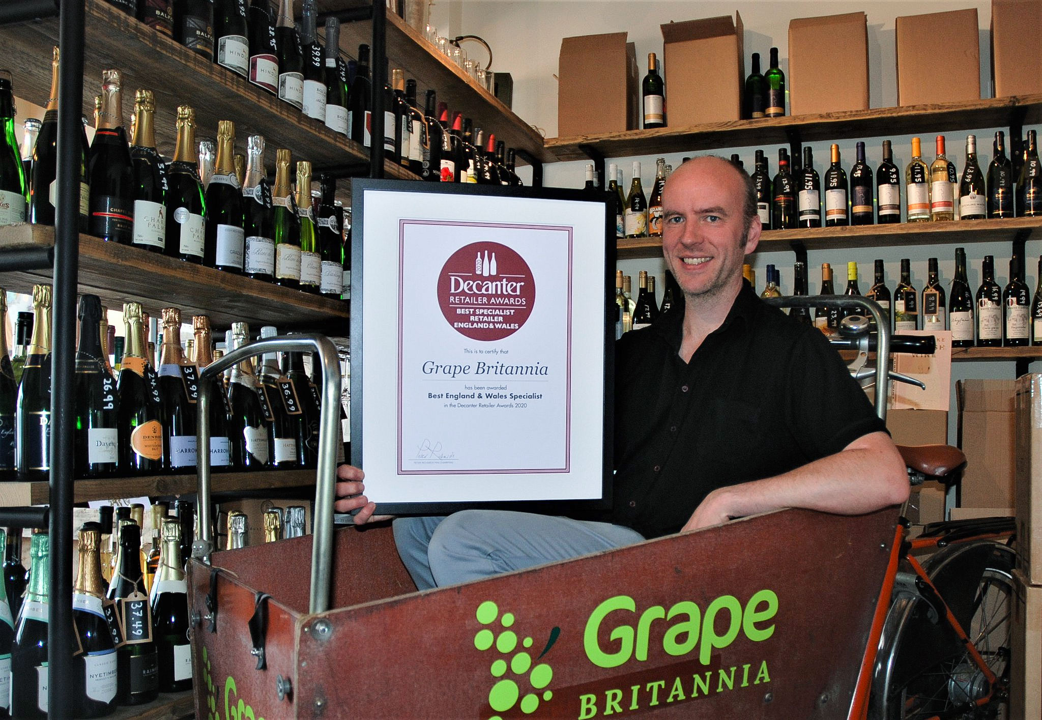 Grape Britannia on winning Decanter Best English & Welsh Wine Specialist